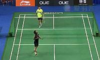 坦农萨克VS桃田贤斗 2014新加坡公开赛 男单1/16决赛视频