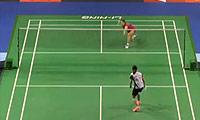 高桥沙也加VS顾娟 2014新加坡公开赛 女单1/16决赛视频