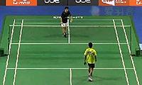 西蒙VS许仁豪 2014新加坡公开赛 男单1/8决赛视频