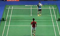 李东根VS高欢 2014新加坡公开赛 男单1/8决赛视频