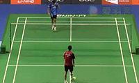 胡赟VS狄奥尼修斯 2014新加坡公开赛 男单1/8决赛视频