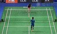 韩利VS广濑荣理子 2014新加坡公开赛 女单1/8决赛视频