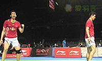蔡赟/鲁恺VS安格里亚万/苏华迪 2014新加坡公开赛 男双1/4决赛视频