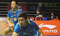 艾哈迈德/纳西尔VS刘成/包宜鑫 2014新加坡公开赛 混双半决赛视频