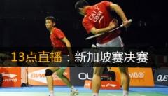 2014年新加坡羽毛球公开赛决赛 直播与对阵表