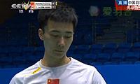 黄宇翔VS布兰顿 2014中国大师赛 男单1/16决赛视频