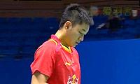 王睁茗VS黄晁 2014中国大师赛 男单1/16决赛视频