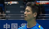 蔡赟/鲁恺VS徐家铭/张御宇 2014中国大师赛 男双1/8决赛视频