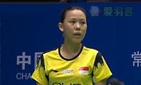 惠夕蕊VS顾娟 2014中国大师赛 女单1/4决赛视频