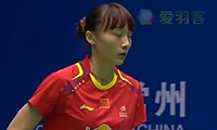 姚雪VS陈嘉园 2014中国大师赛 女单1/4决赛视频