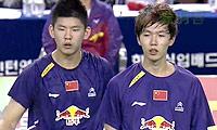 申白喆/柳延星VS李俊慧/刘雨辰 2014亚锦赛 男双决赛视频