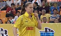 刘鑫VS申克 2013中国羽超联赛 女单决赛视频