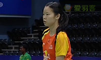李雪芮VS佩米诺娃 2014尤伯杯 女单资格赛视频