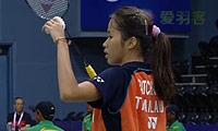 因达农VS叶姵延 2014尤伯杯 女单资格赛明仕亚洲官网