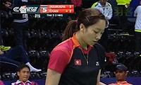 布桑兰VS陈虹蓉 2014尤伯杯 女单资格赛视频