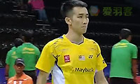 张维峰VS卡什亚普 2014汤姆斯杯 男单资格赛视频