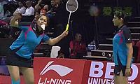古塔/蓬纳帕VS布鲁斯/菲莉斯 2014尤伯杯 女双资格赛明仕亚洲官网