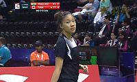 图拉西VS布里特妮 2014尤伯杯 女单资格赛视频