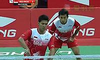 萨普特拉/普拉塔玛VS特里/黄梓良 2014汤姆斯杯 男双资格赛视频