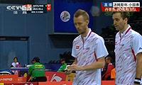 摩根森/尼尔森VS爱德考克/M·埃利斯 2014汤姆斯杯 男双资格赛视频