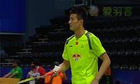 谌龙VS周天成 2014汤姆斯杯 男单资格赛视频