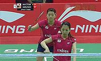 松友美佐纪/高桥礼华VS艾米利亚/宋佩珠 2014尤伯杯 女双资格赛视频