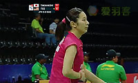 郑清亿VS高桥沙也加 2014尤伯杯 女单资格赛视频