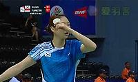 成池铉VS法内特里 2014尤伯杯 女单资格赛视频