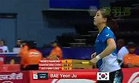 裴延姝VS菲比 2014尤伯杯 女单资格赛视频