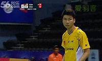 黄钟洙VS吴顺发 2014汤姆斯杯 男单资格赛视频