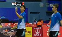 李龙大/柳延星VS陈文宏/云天豪 2014汤姆斯杯 男双资格赛视频