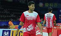 萨普特拉/普拉塔玛VS玛尼蓬/帕提帕特 2014汤姆斯杯 男双资格赛视频