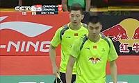柴飚/洪炜VS玛尼蓬/尼迪蓬 2014汤姆斯杯 男双1/4决赛视频