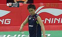 桃田贤斗VS阿萨尔森 2014汤姆斯杯 男单资格赛视频
