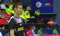 李宗伟VS约根森 2014汤姆斯杯 男单1/4决赛视频