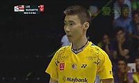 李宗伟VS苏吉亚托 2014汤姆斯杯 男单半决赛视频