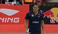 上田拓马VS刘国伦 2014汤姆斯杯 男单决赛视频
