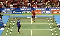 约根森VS桃田贤斗 2014日本公开赛 男单1/16决赛视频