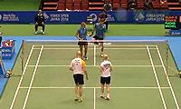 福克斯/迈克斯VS布莱尔/班克尔 2014日本公开赛 混双1/16决赛视频