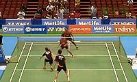 雷扎/玛丽莎VS陈润龙/谢影雪 2014日本公开赛 混双1/16决赛视频