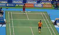 林丹VS坂井一将 2014日本公开赛 男单资格赛视频