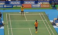 林丹VS刘国伦 2014日本公开赛 男单资格赛视频