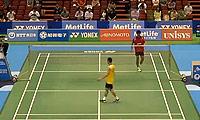 李宗伟VS施贵钧 2014日本公开赛 男单1/16决赛视频