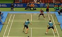 玛尼蓬/尼迪蓬VS伊万诺夫/索松诺夫 2014日本公开赛 男双1/16决赛视频