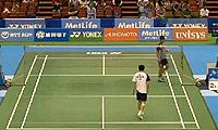 胡赟VS周天成 2014日本公开赛 男单1/16决赛视频