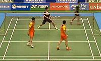 王懿律/张稳VS吴伟申/陈文宏 2014日本公开赛 男双1/8决赛视频