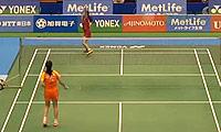李雪芮VS广濑荣理子 2014日本公开赛 女单1/8决赛视频