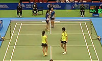 张艺娜/金昭映VS马晋/唐渊渟 2014日本公开赛 女双1/4决赛视频
