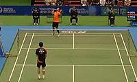 胡赟VS约根森 2014日本公开赛 男单半决赛视频