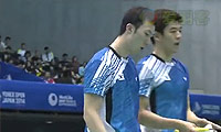 李龙大/柳延星VS阿山/塞蒂亚万 2014日本公开赛 男双决赛视频